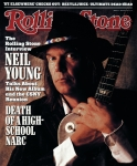 Featured Framed Prints - Rolling Stone Cover - Volume #527 - 6/2/1988 - Neil Young  Framed Print by William Coupon