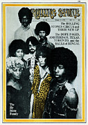 Sly Prints - Rolling Stone Cover - Volume #54 - 3/19/1970 - Sly and the Family Stone Print by Stephen Paley