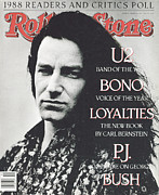 Covers Art - Rolling Stone Cover - Volume #547 - 3/9/1989 - Bono by Anton Corbijn