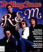 Featured Art - Rolling Stone Cover - Volume #550 - 4/20/1989 - REM by Timothy White