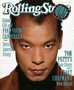 Featured Prints - Rolling Stone Cover - Volume #562 - 10/5/1989 - Roland Gift Print by Andrew MacPherson