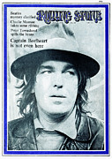 Captain Prints - Rolling Stone Cover - Volume #58 - 5/14/1970 - Captain Beefheart Print by John Williams