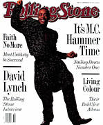 Hammer Art - Rolling Stone Cover - Volume #586 - 9/6/1990 - MC Hammer by Frank Ockenfels