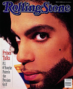 Featured Prints - Rolling Stone Cover - Volume #589 - 10/3/1990 - Prince Print by Jeff Katz