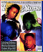 Living Photos - Rolling Stone Cover - Volume #590 - 11/1/1990 - Living Colour by Mark Seliger