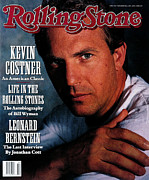 Featured Prints - Rolling Stone Cover - Volume #592 - 11/29/1990 - Kevin Costner Print by Gwendolen Cates