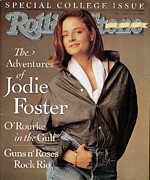 Covers Art - Rolling Stone Cover - Volume #600 - 3/21/1991 - Jodie Foster by Matthew Rolston