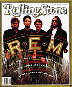 Featured Art - Rolling Stone Cover - Volume #607 - 6/27/1991 - REM by Frank Ockenfels