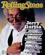Jerry Framed Prints - Rolling Stone Cover - Volume #616 - 10/31/1991 - Jerry Garcia Framed Print by Mark Seliger