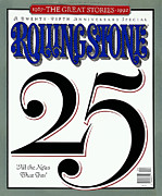 25th Posters - Rolling Stone Cover - Volume #632 - 6/11/1992 - 25th Anniversary  Poster by Dennis Ortiz Lopez