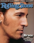 Springsteen Framed Prints - Rolling Stone Cover - Volume #636 - 8/6/1992 - Bruce Springsteen Framed Print by Herb Ritts