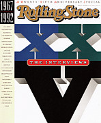 Featured Prints - Rolling Stone Cover - Volume #641 - 10/15/1992 - The Twentieth-fifth Anniversary: The Interviews Print by 