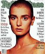 Rock N Roll Posters - Rolling Stone Cover - Volume #642 - 10/29/1992 - Sinead OConnor Poster by Albert Watson
