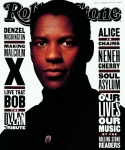 Rollingstone Posters - Rolling Stone Cover - Volume #644 - 11/26/1992 - Denzel Washington Poster by Albert Watson