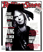 Neil Young Photo Prints - Rolling Stone Cover - Volume #648 - 1/21/1993 - Neil Young  Print by Mark Seliger