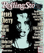 Featured Prints - Rolling Stone Cover - Volume #649 - 2/4/1993 - Neneh Cherry Print by Ellen Von Unwerth