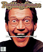 Rollingstone Posters - Rolling Stone Cover - Volume #650 - 2/18/1993 - David Letterman Poster by Mark Seliger