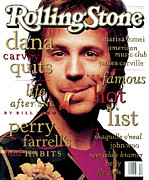Featured Acrylic Prints - Rolling Stone Cover - Volume #656 - 5/13/1993 - Dana Carvey Acrylic Print by Mark Seliger