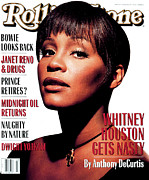 Houston - Texas Posters - Rolling Stone Cover - Volume #658 - 6/10/1993 - Whitney Houston Poster by Albert Watson