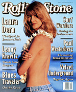 Featured Prints - Rolling Stone Cover - Volume #659 - 6/24/1993 - Laura Dern Print by Kurt Markus