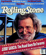 Featured Framed Prints - Rolling Stone Cover - Volume #664 - 9/2/1993 - Jerry Garcia Framed Print by Mark Seliger