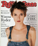 Covers Art - Rolling Stone Cover - Volume #677 - 3/10/1994 - Winona Ryder by Herb Ritts