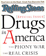 Featured Prints - Rolling Stone Cover - Volume #681 - 5/5/1994 - Drugs in America Print by I.P. Daley