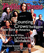 Featured Prints - Rolling Stone Cover - Volume #685 - 6/30/1994 - Counting Crows Print by Mark Seliger