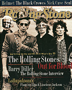 Covers Prints - Rolling Stone Cover - Volume #689 - 8/25/1994 - Rolling Stones Print by Anton Corbijn