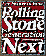 Rock N Roll Posters - Rolling Stone Cover - Volume #695 - 11/16/1994 - Generation Next Poster by Eric Siry