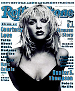 Rolling Stone Magazine Art - Rolling Stone Cover - Volume #697 - 12/15/1994 - Courtney Love by Mark Seliger