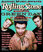 Green Framed Prints - Rolling Stone Cover - Volume #700 - 1/26/1995 - Green Day Framed Print by Dan Winters