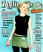 Dolores Posters - Rolling Stone Cover - Volume #704 - 3/23/1995 - Dolores ORiordan Poster by Corrine Day