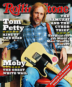 Tom Framed Prints - Rolling Stone Cover - Volume #707 - 5/4/1995 - Tom Petty Framed Print by Mark Seliger