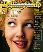 Rollingstone Posters - Rolling Stone Cover - Volume #710 - 6/15/1995 - Drew Barrymore Poster by Mark Seliger