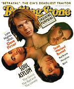 Soul Framed Prints - Rolling Stone Cover - Volume #711 - 6/29/1995 - Soul Asylum Framed Print by Matt Mahurin