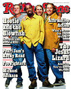 Rolling Stone Art - Rolling Stone Cover - Volume #714 - 8/10/1995 - Hootie and The Blowfish by Mark Seliger