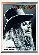 Roll Framed Prints - Rolling Stone Cover - Volume #72 - 12/10/1970 - Leon Russell Framed Print by Ed Caraeff