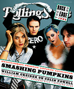 Featured Art - Rolling Stone Cover - Volume #721 - 11/16/1995 - Smashing Pumpkins by Mark Seliger