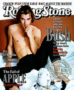 Gavin Rossdale Framed Prints - Rolling Stone Cover - Volume #732 - 4/18/1996 - Gavin Rossdale Framed Print by Mark Seliger
