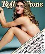 Rock N Roll Posters - Rolling Stone Cover - Volume #744 - 10/3/1996 - Brooke Shields Poster by Mark Seliger