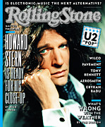 Covers Prints - Rolling Stone Cover - Volume #756 - 3/20/1997 - Howard Stern Print by Mark Seliger