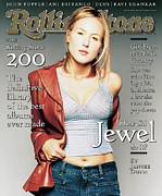 Jewel Framed Prints - Rolling Stone Cover - Volume #760 - 5/15/1997 - Jewel Framed Print by Matthew Rolston