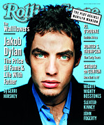 Dylan Metal Prints - Rolling Stone Cover - Volume #762 - 6/12/1997 - Jakob Dylan Metal Print by Mark Seliger