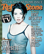 Campbell Framed Prints - Rolling Stone Cover - Volume #769 - 9/18/1997 - Neve Campbell Framed Print by Matthew Rolston