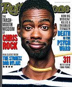 Chris Prints - Rolling Stone Cover - Volume #770 - 10/2/1997 - Chris Rock Print by Mark Seliger