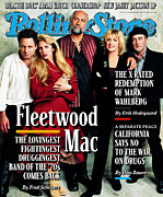 Covers Prints - Rolling Stone Cover - Volume #772 - 10/30/1997 - Fleetwood Mac Print by Mark Seliger