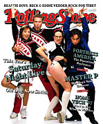 Cast Prints - Rolling Stone Cover - Volume #774 - 12/11/1997 - Cast of Saturday Night Live Print by Mark Seliger