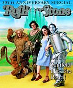 Rock N Roll Posters - Rolling Stone Cover - Volume #787 - 5/28/1998 - Cast of Seinfeld Poster by Mark Seliger