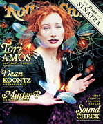 Roll Framed Prints - Rolling Stone Cover - Volume #789 - 6/25/1998 - Tori Amos Framed Print by David LaChapelle